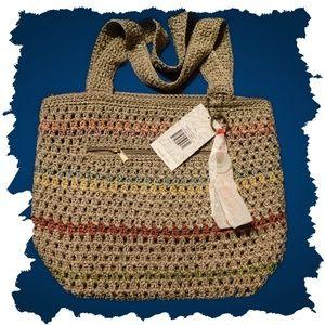 NWT The Sak Amberly Hand Crocheted Handbag